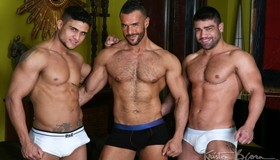 Men in the City 2 – The Temple: Wagner Vittoria, Diego Lauzen & Denis Vega