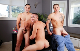 Mark Long, Andrew Fitch & Colt Rivers
