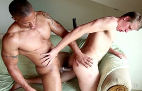 Gay Inter-racial - Robert Christian & Seth Bond