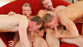 Suruba Gay - Johnny Torque, James Jamesson, Samuel O'Toole, James Huntsman, Cameron Foster, Vinny Castillo & Connor Maguir