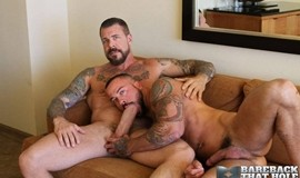 Rocco Steele and Sean Duran