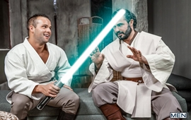 Star Wars: A GAY XXX Parody Part 1 – Luke Adams & Jessy Ares