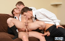 Sexo Gay - Connor Maguire, Tommy Regan & JJ Knight
