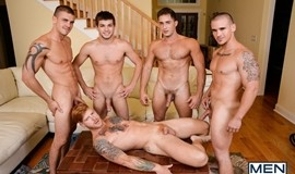 Suruba Gay - Johnny Rapid, Bennett Anthony, Adam Bryant, Armando De Armas & Darin Silvers