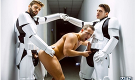 Star Wars 4 : A Gay XXX Parody – Hector De Silva, Luke Adams, Paddy O'Brian & Troopers