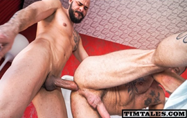 Gay Bareback - Dalton Sirius Fucks Antonio Miracle