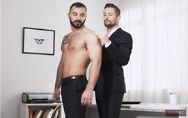 Gay Executivo - Xavi Duran and Nick North