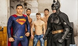 Batman V Superman – A Gay XXX Parody Part 3 – Topher Dimaggio, trenton Ducati, Allen King, Massino Dario & Dario Beck