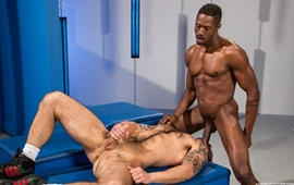 Gay Inter-racial - Chris Harder & Derek Maxum