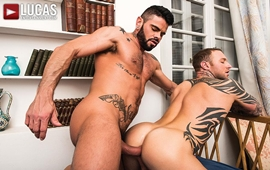 Troca-Troca Bareback - Mario Domenech Gives His Ass To Dylan James