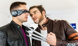 Super Gay Hero – X-MEN A XXX Gay Porn Parody Part 1 – Colby Keller and Brenner Bolton