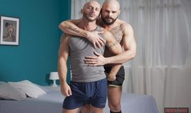 Gay Bareback - Dalton Sirius and Aymeric Deville