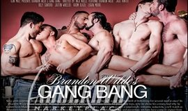 Filme Gay Completo - Brandon Wilde's First Gang Bang