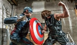 Super Gay Hero – Captain America A Gay XXX Parody – Alex Mecum and Paddy O'Brian