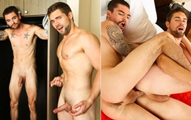 Johnny Torque fucks Griffin Barrows – Barrowed Undies