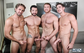 His Royal Highness Part 3 – Connor Maguire, Jimmy Durano, Jack Hunter & Wesley Woods