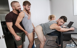 Step Dick Part 4 – Dalton Briggs, Dirk Caber & Vincent Diaz