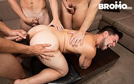 Str8 Bitch Part 4 – Aspen, Addison Graham, Evan Marco & Tobias - Bareback
