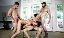 One Erection Finale: It's Madness! - Allen King, Colby Keller, Kody Stewart, Levi Karter, Liam Riley & Tayte Hanson
