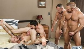 Hairy Tales Part 3 – Dirk Caber, Colton Grey, Marc Giacomo & Derek Bolt