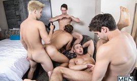 Pop Star – A Gay XXX Parody Part 3 – Johnny Rapid, Will Braun, Brendan Phillips, Wesley Woods & Tobias