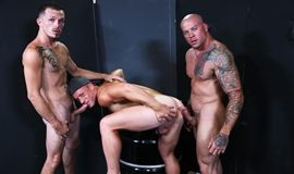 Warehouse Hookup Part 3 – Sean Duran, Jimmie Slater & Saxon West
