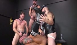 FUCK ME Part 2- Ace Era, Boy Fillmore, Damon Andros, Dolf Dietrich & Hugh Hunter
