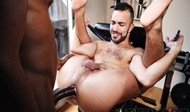 Gay Bareback - Devon Lebron and Dano Guerre