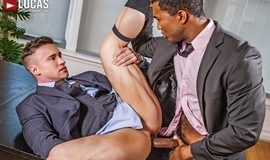 Sean Xavier And Alexander Volkov – Interracial Sex In Suits