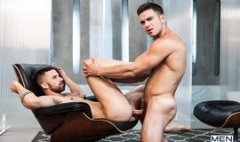 Paddy O'Brian Fucks Sunny Colucci in 'Ex-Machina: A Gay XXX Parody' Part 2