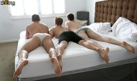 Threesome FUCK: Forrest Marks, Jason Keys, and Neal Peterson