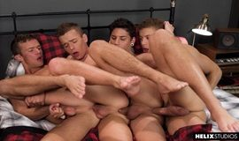 Four Play – Logan Cross, Brad Chase, Aiden Garcia & Corbin Colby