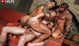 Raw Double-Penetration – Adam Killian, Marq Daniels, Brian Bonds & Michael Roman