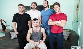 My Whore Of A Roommate - Trevor Long, Colby Keller, Paul Canon, Roman Cage & Jacob Peterson