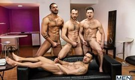 Hat Trick Part 3 – Paddy O'Brian, Andy Star, Lucas Fox & Ely Chaim