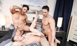 Our First 3-Way – Alexander Garrett, Rego Bello & Tommy Regan