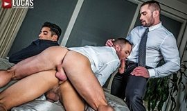 Gentlemen 19: Hard At Work – Drae Axtell's Corporate Threesome With Dylan James And Stas Landon