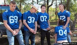 Tight Ends – Scene Three – Zach Taylor, Colton James, Sean Ford, Joey Mills & Corbin Colby