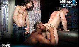 Scott Riley, Luke Diamond and Woody Fox in The Ten Spot
