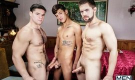 Twink Peaks Part 3 – Aspen, Griffin Barrows & Xander Brave