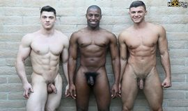 GayHoopla – 3-Way FUCK: Alex Griffen Bottoms for Collin Simpson and Tyler Smith