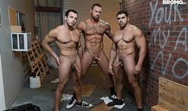 Bromo – Whore Alley Part 4 – Damien Stone, Michael Roman & Leon Lewis