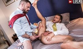 LucasEntertainment – Gentlemen 20: Inside Trade – Sergeant Miles Dominates Brian Bonds' Ass