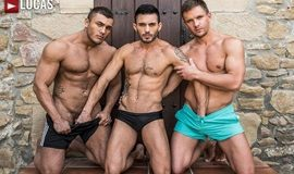 LucasEntertainment – Brock Magnus And Andrey Vic Double-Team Andy Star Raw