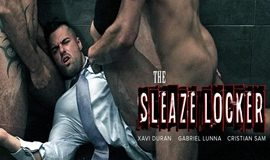 MenAtPlay – THE SLEAZE LOCKER – Gabriel Lunna, Xavi Duran & Cristian Sam
