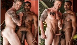 LucasEntertainment – Bareback Auditions 08: Fresh Additions – Shawn Reeve Takes Sean Xavier's BBC Up His Ass