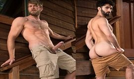 RagingStallion: Colby Keller bangs Tegan Zayne in Trapped