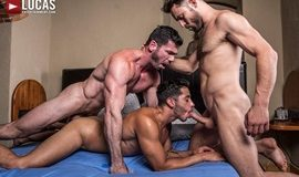 LucasEntertainment – Must Seed TV – Dine Ass-ty – Drae Axtell, James Castle & Billy Santoro