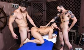 Couples Massage Part 2 – Cliff Jensen, Ashton McKay & Beaux Banks