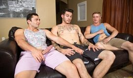 NextDoorStudios – Nervous Newbies – Johnny Riley, Chris Blades & TJ Lee